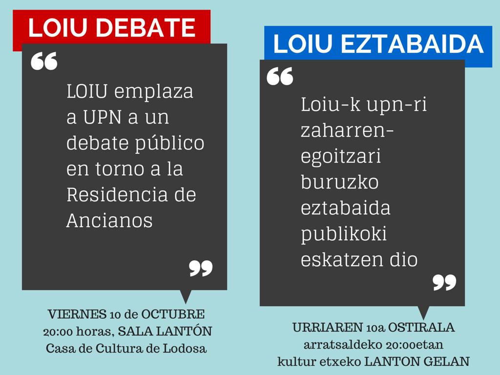 loiu debate